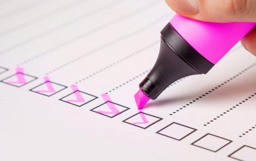 Singing Teacher checklist